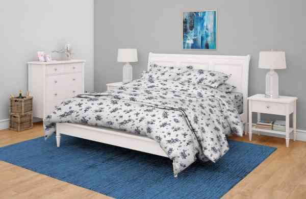 Antimicrobial_100%_Cotton_Linear_Floral_Bedsheet_Set