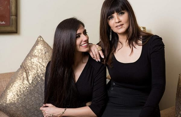 Nishka Lulla (left) and Neeta Lulla (right)