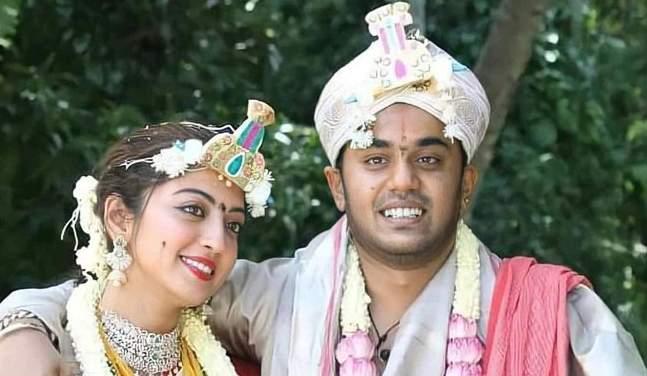 Pranitha Subhash Wedding Picture