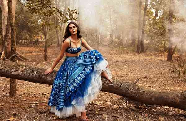 A silhouette from Anita Dongre's Sounds of the Forest