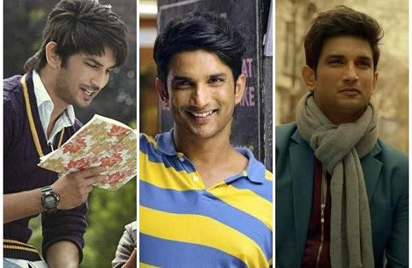 Stills of Sushant Singh Rajput from various movies