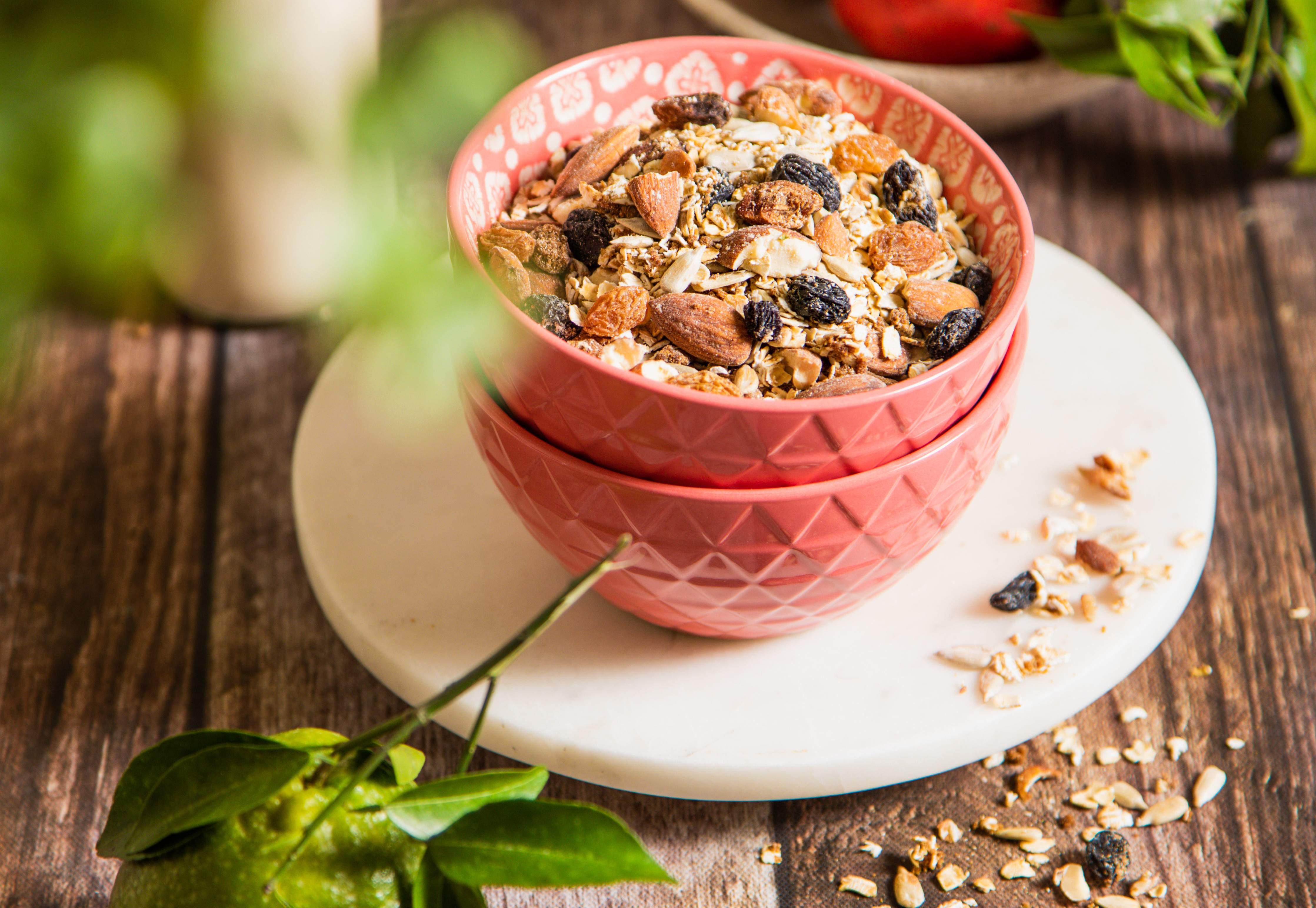 Granola breakfast recipe by Neha Ahuja