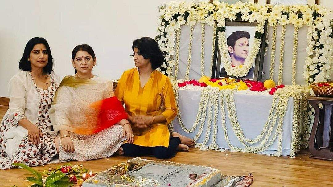 Sushant Singh Rajput's sisters hold a prayer for his first death anniversary
