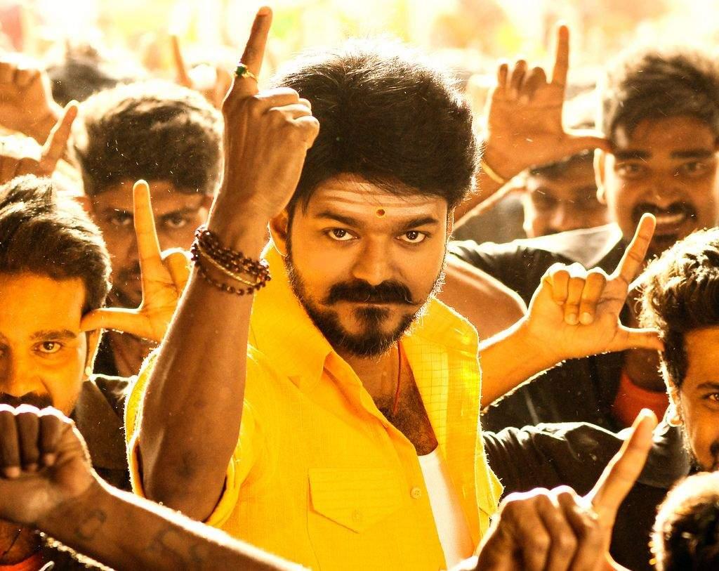A still from Mersal starring Vijay