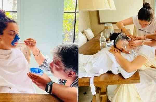 Kangana Ranaut undergoing body scan