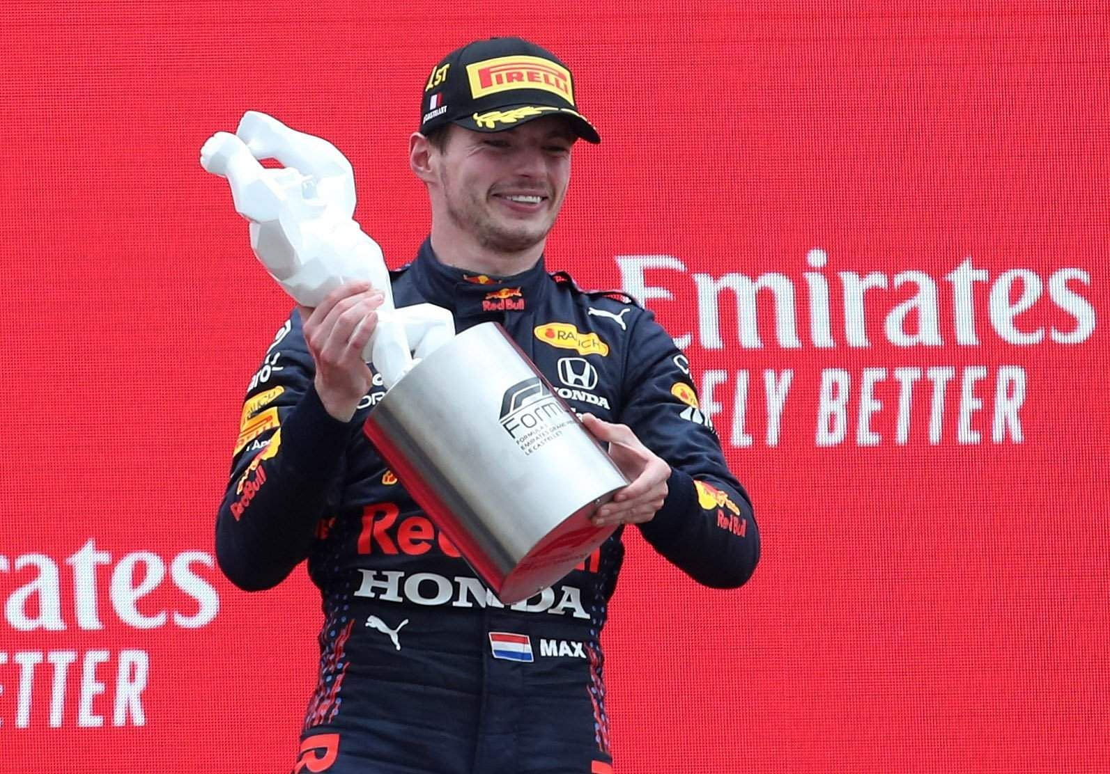 Max Verstappen wins the French Grand Prix after a close battle with Lewis Hamilton