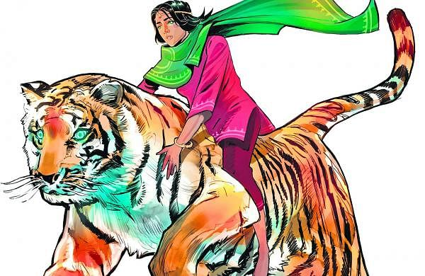 Indian Authors addressing sexism in comic books