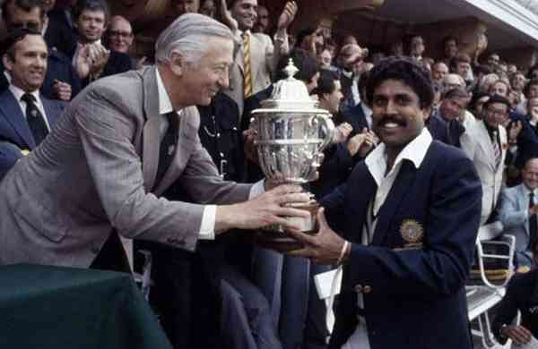 Under Kapil Dev'S Captaincy Won First World Cup