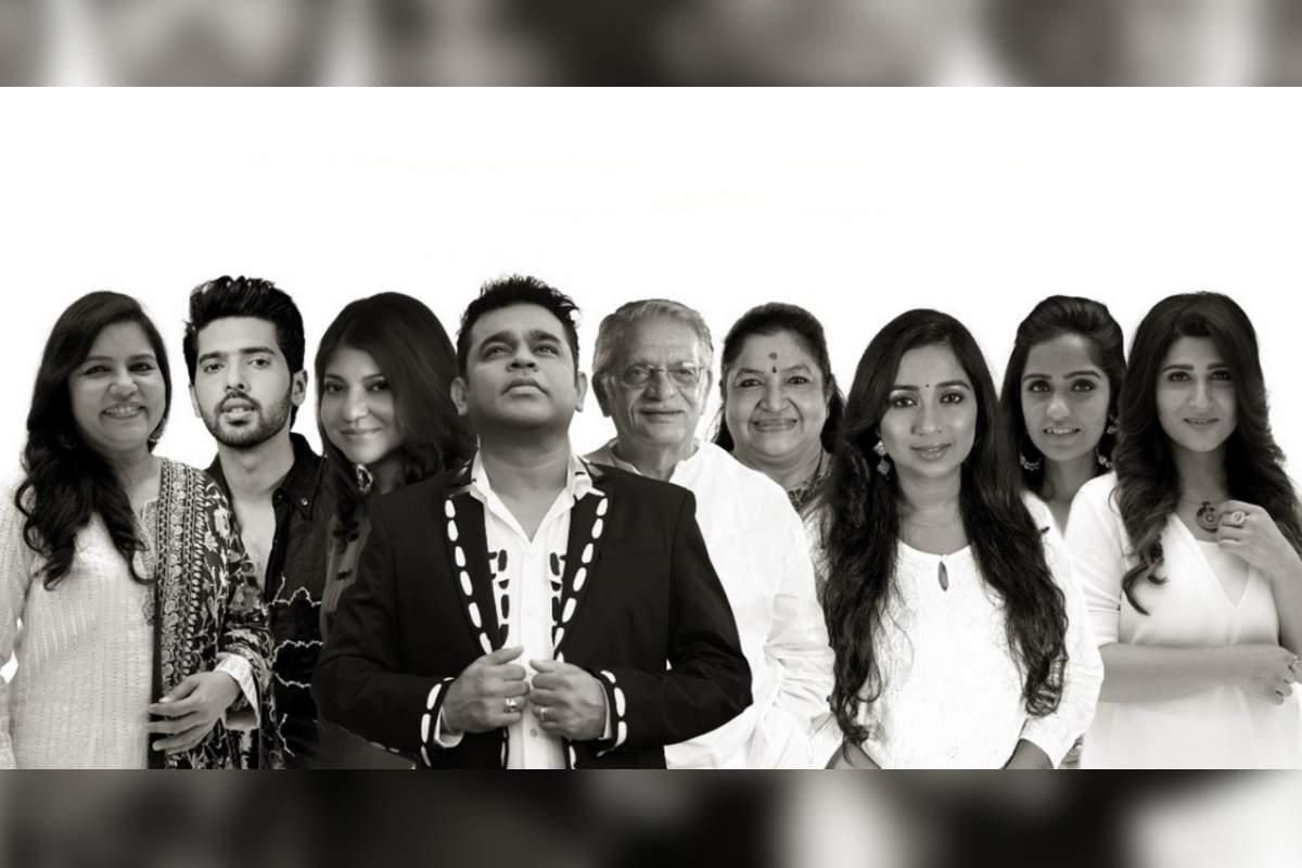 AR Rahman and Gulzar in the hope anthem 'Meri Pukaar Suno'