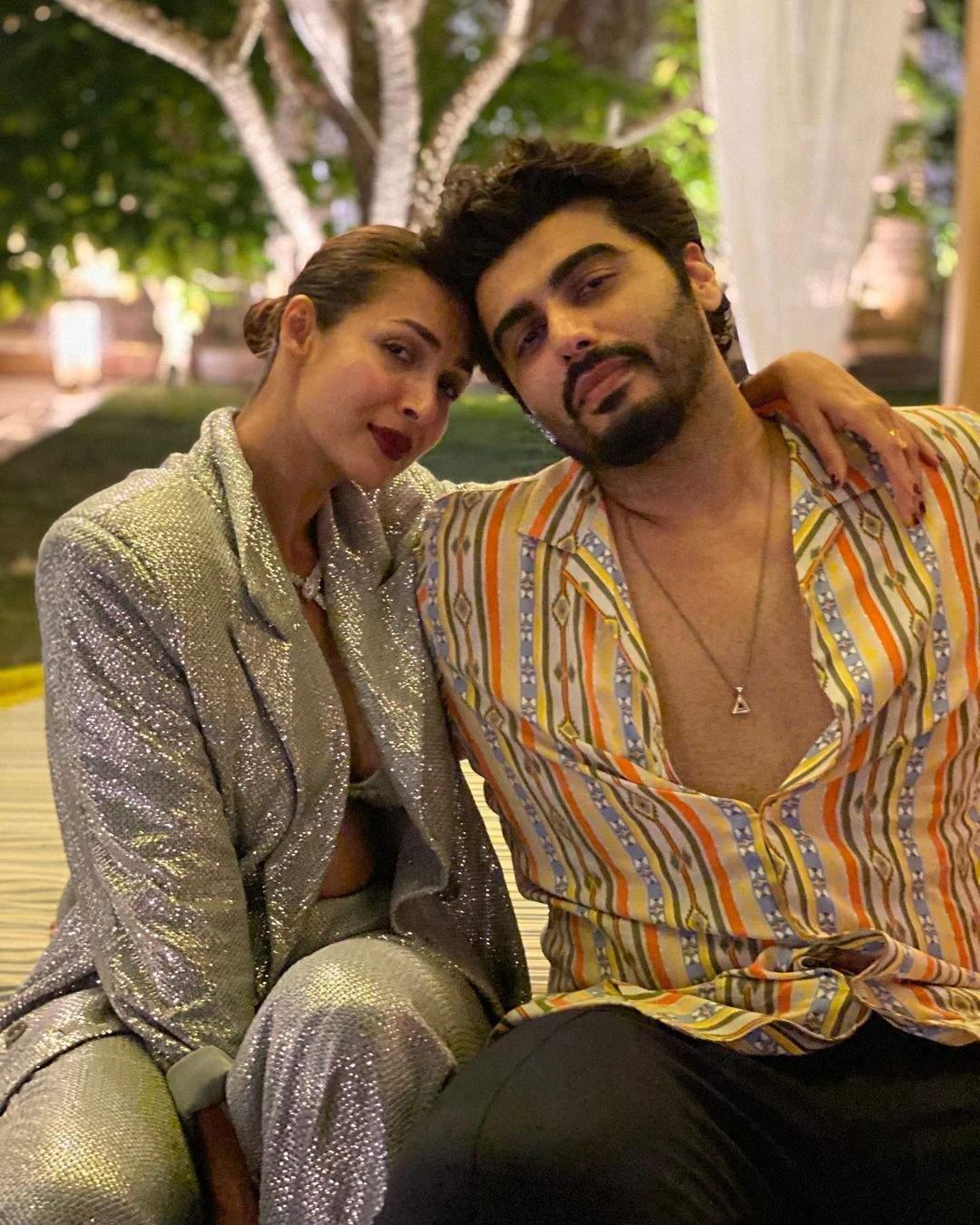 Arjun Kapoor with his girlfriend Malaika Arora 2