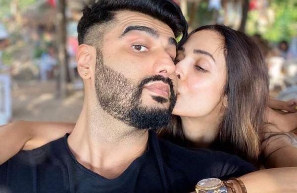 Arjun Kapoor with his girlfriend Malaika Arora