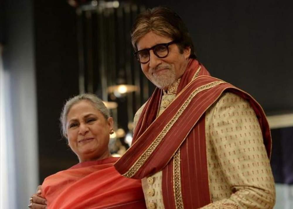 Amitabh Bachchan with Jaya Bachchan