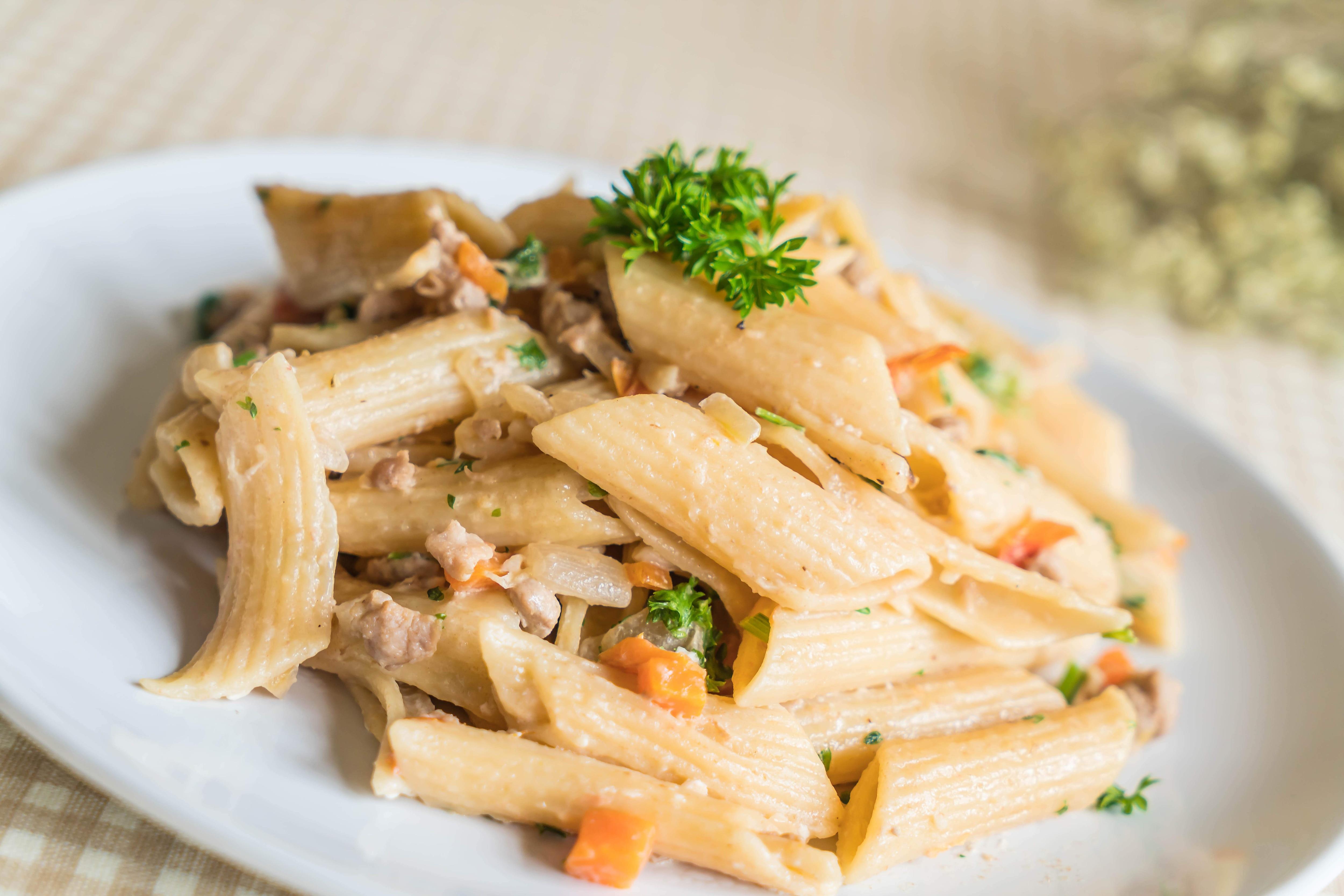 Penne Pasta Cream Cheese Recipe