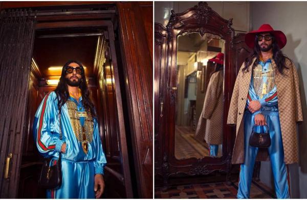Ranveer Singh in Gucci