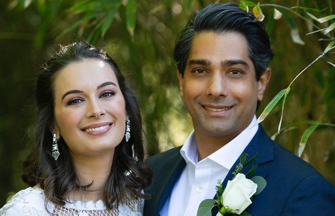Evelyn Sharma and Dr Tushaan Bhindi  tie the knot