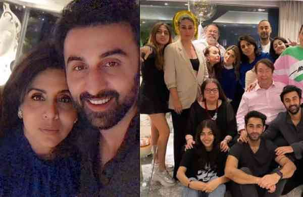 Kapoor Family Birthday