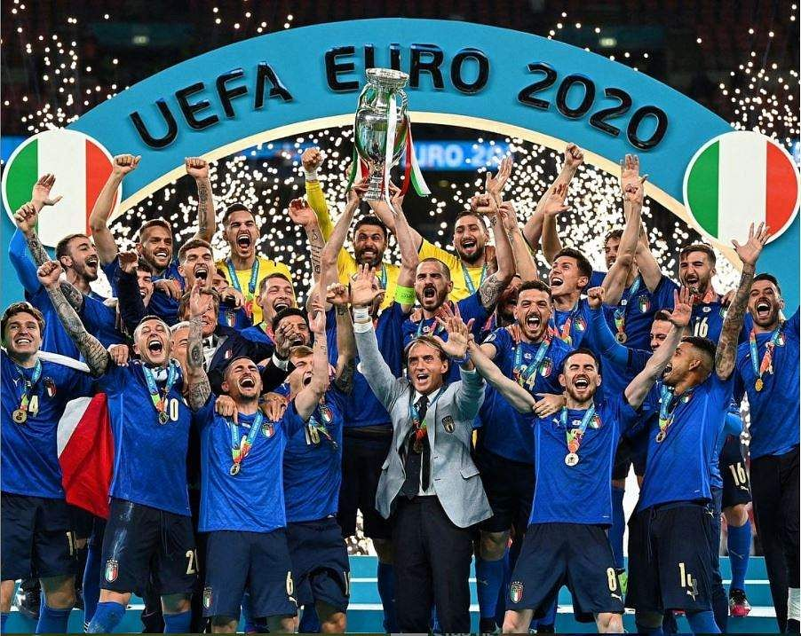 Italy The Champions Of Euro 2020