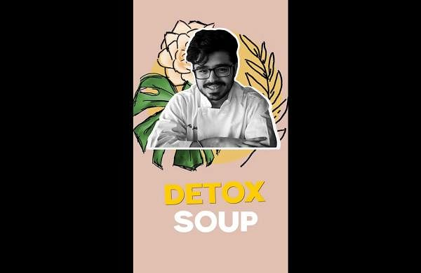 Chef Abhav Malhotra guarantees a perfect detox session with this wholesome chicken soup