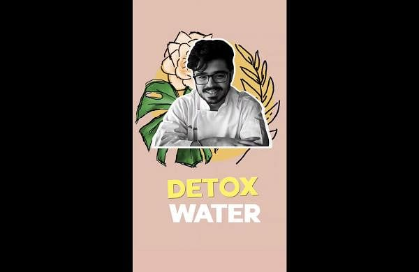 Chef Abhav Malhotra shares the recipe for a multi-use green tea detox water that helps with digestion and weight loss