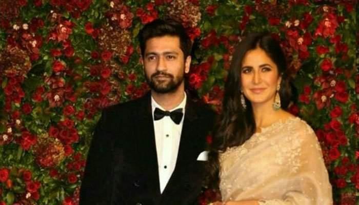 Katrina Kaif with Vicky Kaushal