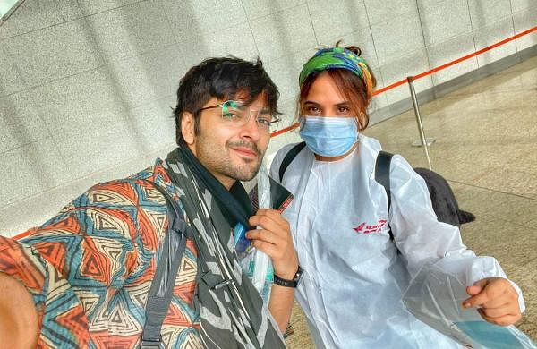Richa Chadha And Ali Fazal Shoot A Teaser In Dehradun