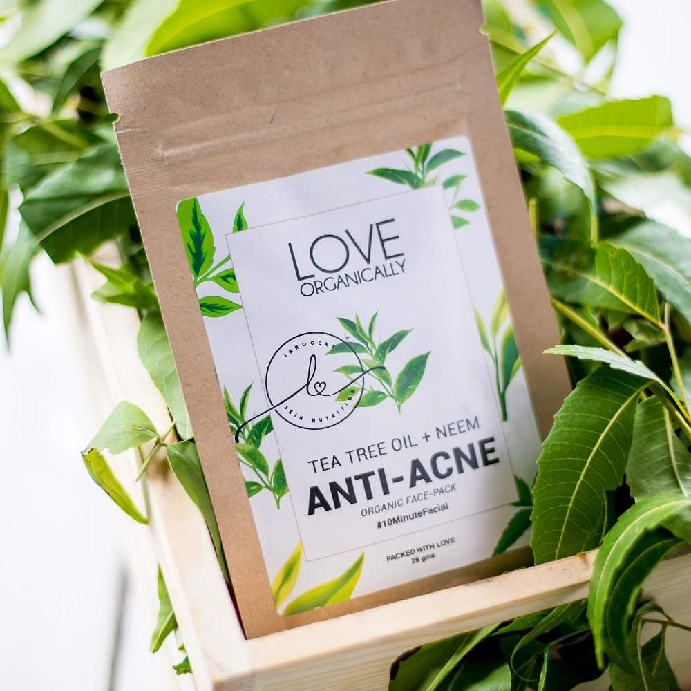 Love Organically's face pack