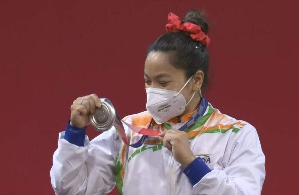 Saikhom Mirabai Chanu scripted history after she won a medal on the first day of the Tokyo Olympics on Saturday.