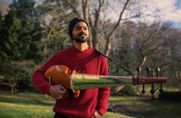 British-Indian sarod maestro Soumik Datta