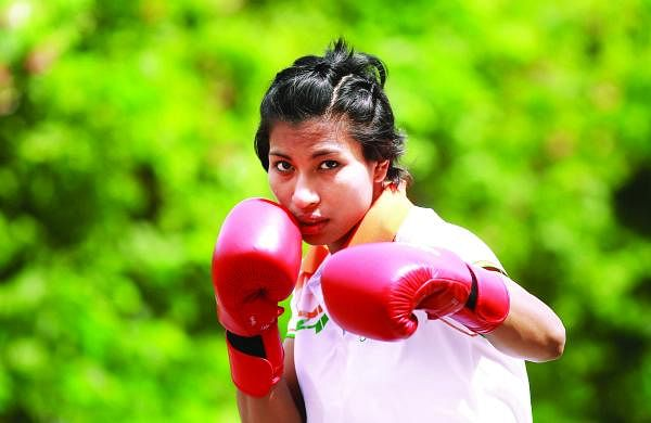 Lovlina is the first woman athlete from Assam to represent the state in the Olympics