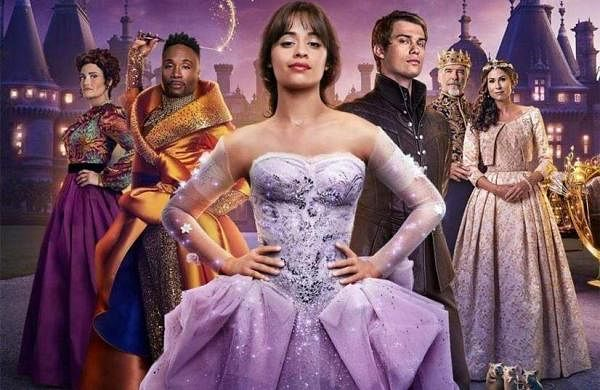 Camila Cabello, Billy Porter, James Corden and others in Amazon Prime Video's Cinderella