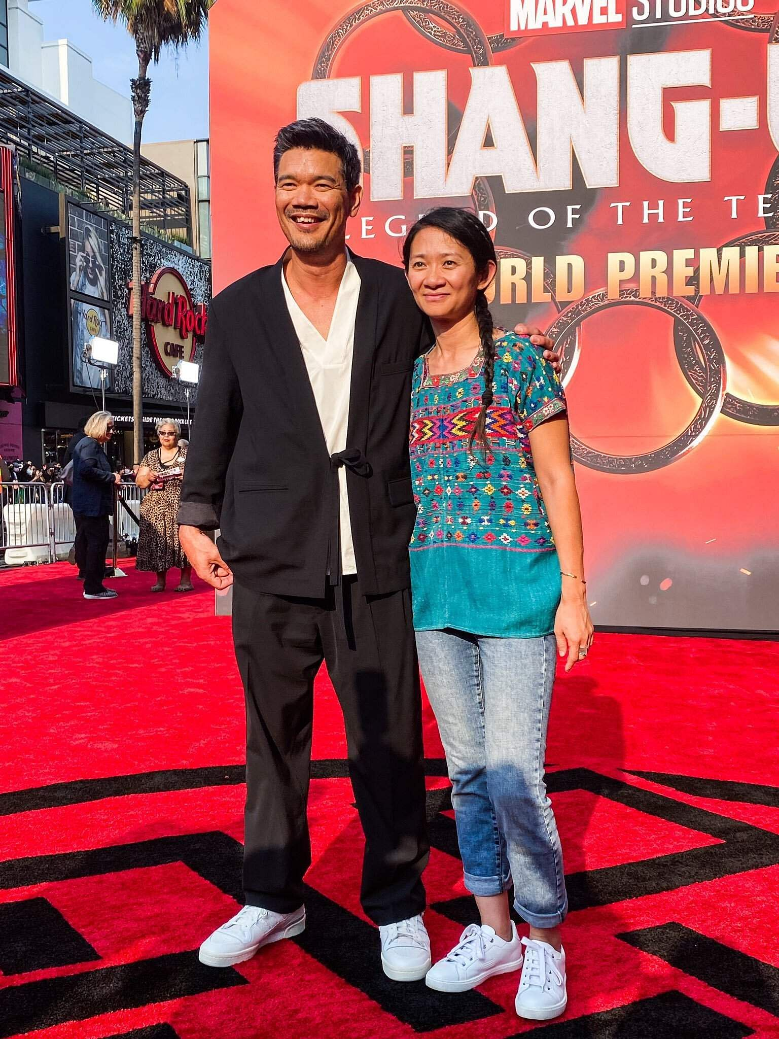 Destin Daniel Cretton with Chloe Zhao