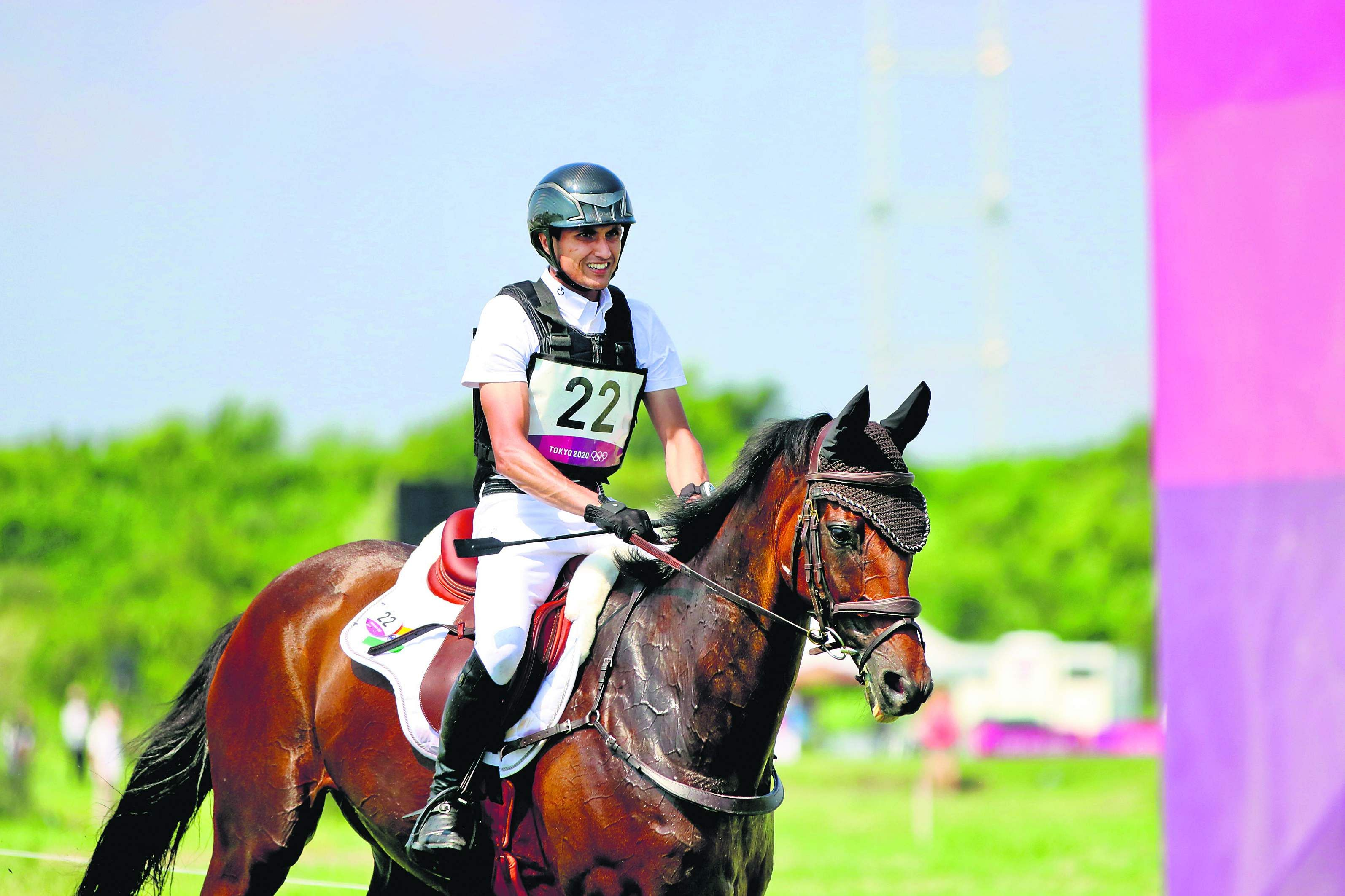 Fouaad Mirza, the first Indian equestrian to reach Olympics finals