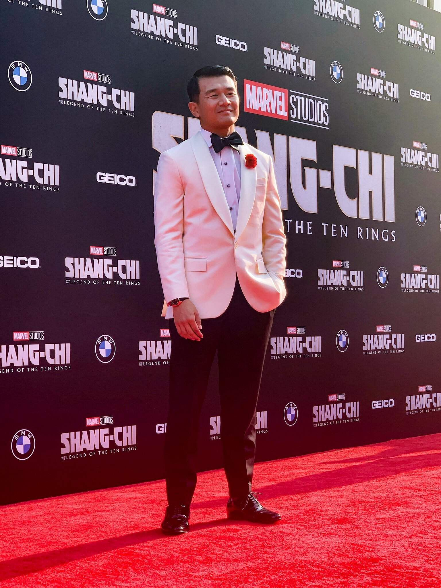 Ronny Chieng at the premiere of Shang-Chi and the Legend of the Ten Rings