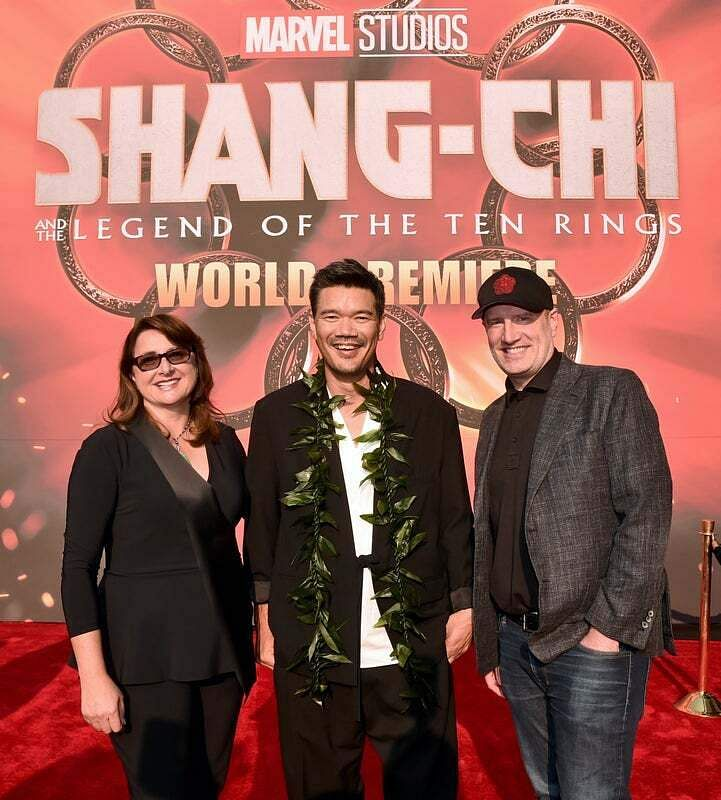 Simu Liu at the premiere of Marvel'sShang-Chi and the Legend of the Ten Rings