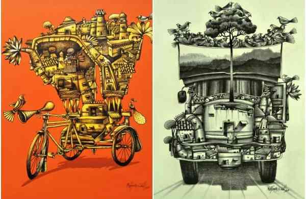 Works by Manjunath Wali