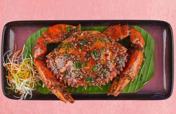 Black Pepper Crab at Zyng