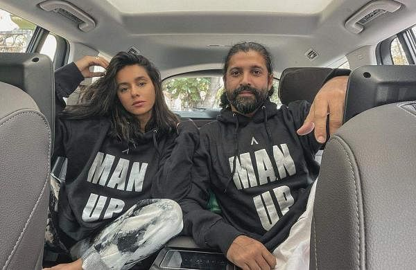 Farhan Akhtar with Shibani Dandekar
