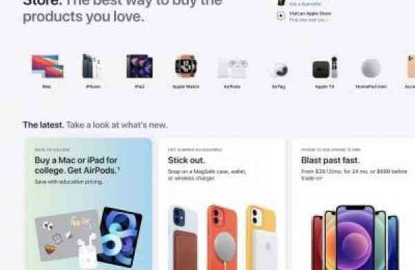 Apple's Online Store gets a new look before mega launches