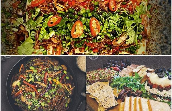 Dishes from Amrita Goenka's Chop Chop