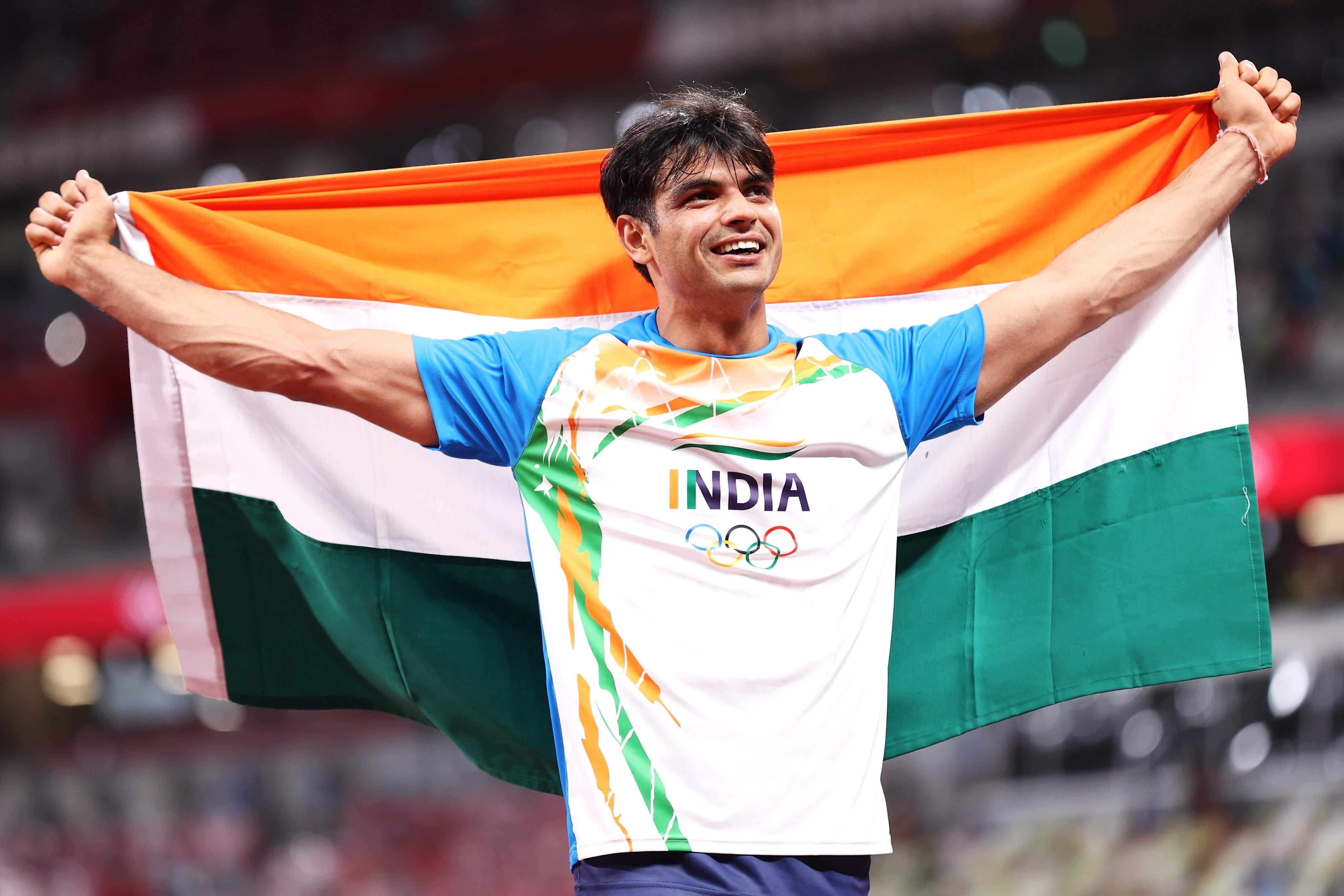 Neeraj Chopra creates history by winning gold in javelin throw; wishes pour  in from Abhinav Bindra,