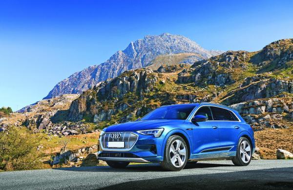 Audi's new e-vehicle: e-tron 55 quattro