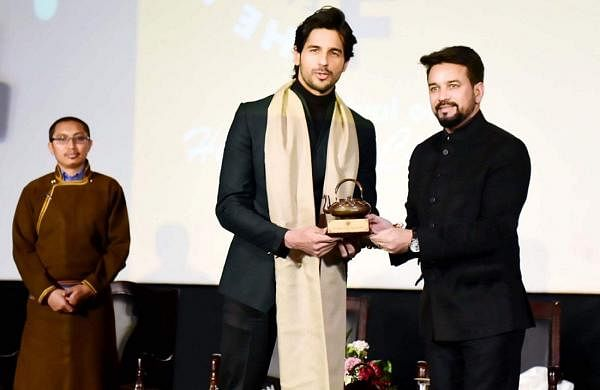 Sidharth Malhotra felicitated at Ladakh Film festival