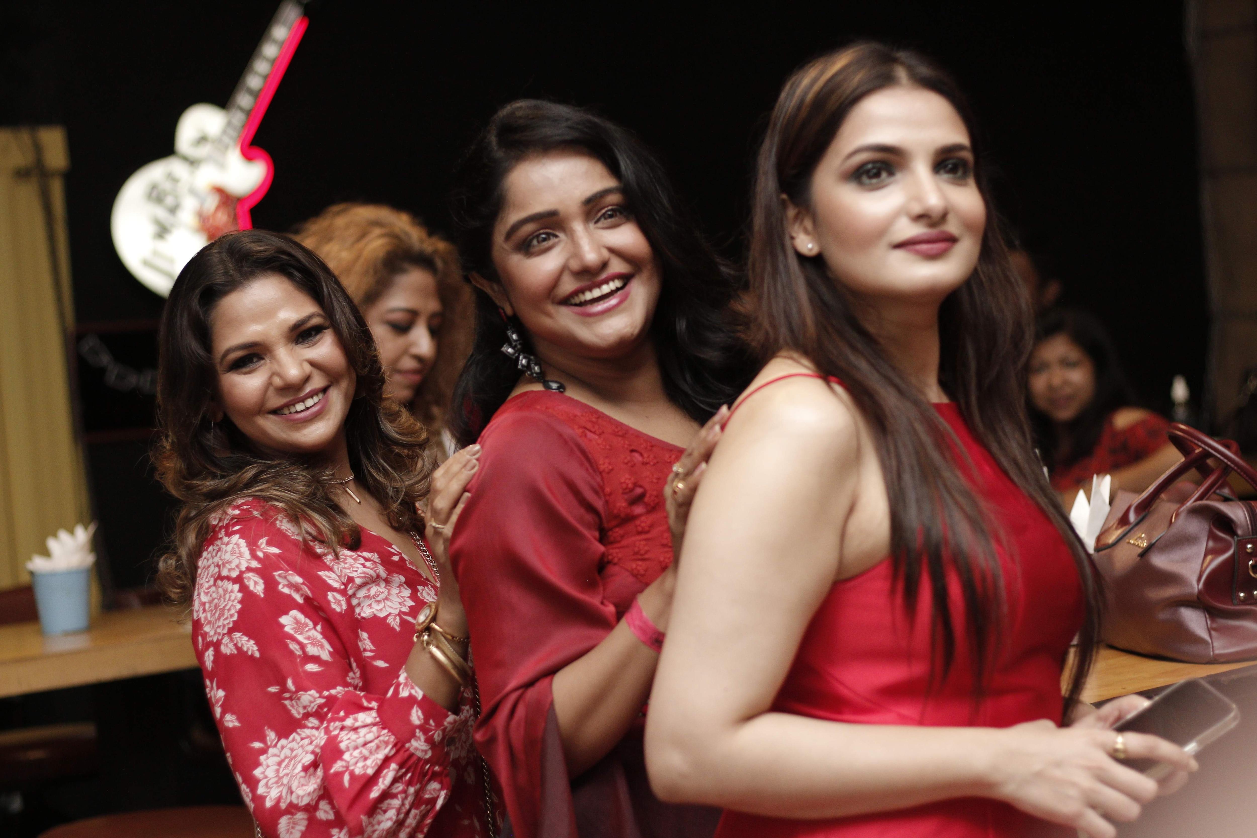 Tnusree, Sayantani and Sudipta